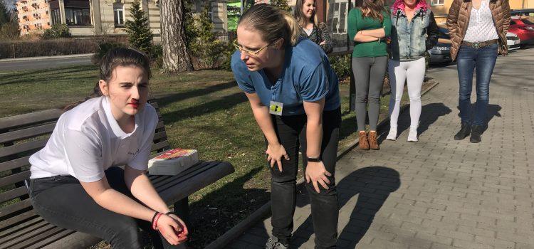 Kurz všeobecné první pomoci pro veřejnost ve vzdělávacím centru Varnsdorf
