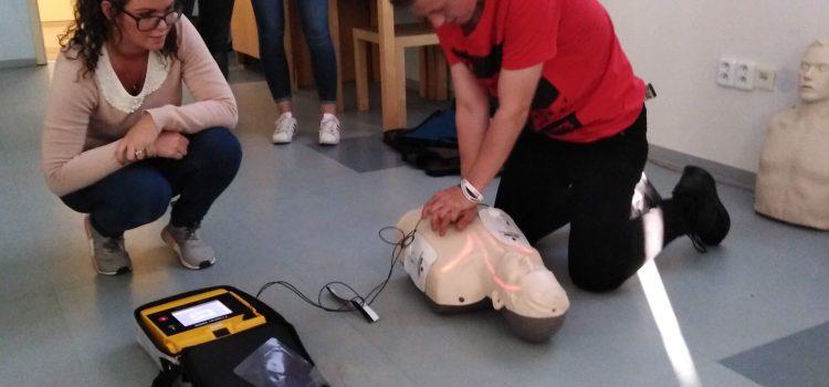 Kurz resuscitace s AED